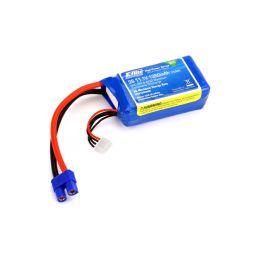 E-flite LiPo 11.1V 1350mAh 30C EC3 - 1