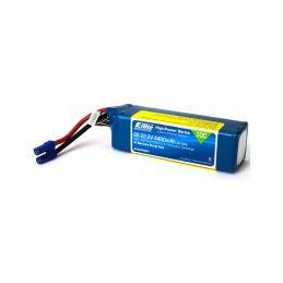 E-flite LiPo 22.2V 4400mAh 30C EC5 - 1