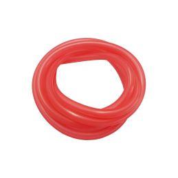 Silikonová hadička 2.4/5.5mm červená (1m) - 1