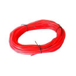 Silikonová hadička 2.4/5.5mm červená (50m) - 1