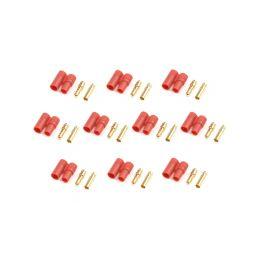 Konektor zlacený 3.5mm s plastovým krytem (5 párů) - 1