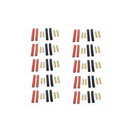Konektor zlacený 4.0mm (10 párů) - 1