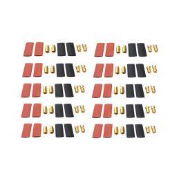 Konektor zlacený 6.0mm (10 párů) - 1