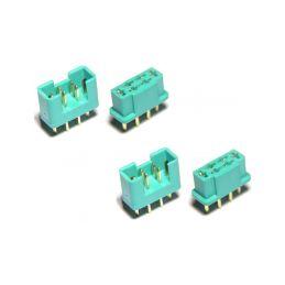 MULTIPLEX konektor samec + samice 2 páry - 1