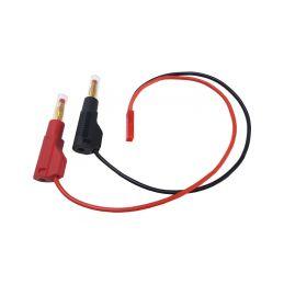 Nabíjecí kabel s banánky - JST - 1