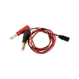 Nabíjecí kabel s banánky - Futaba Rx - 1