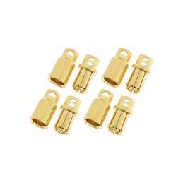 Konektor zlacený 8.0mm (4 páry) - 1