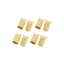 Konektor zlacený 6.5mm (4 páry) - 1
