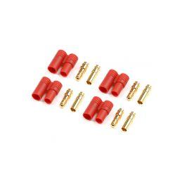 Konektor zlacený 3.5mm plastové pouzdro (4) - 1