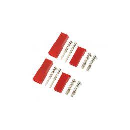 Konektor zlacený JST (2 páry) - 1