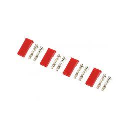 Konektor zlacený JST samec (4) - 1