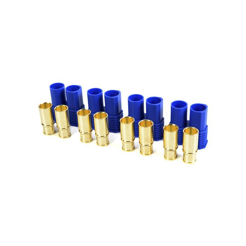 Konektor zlacený EC8 samec (4) - 1
