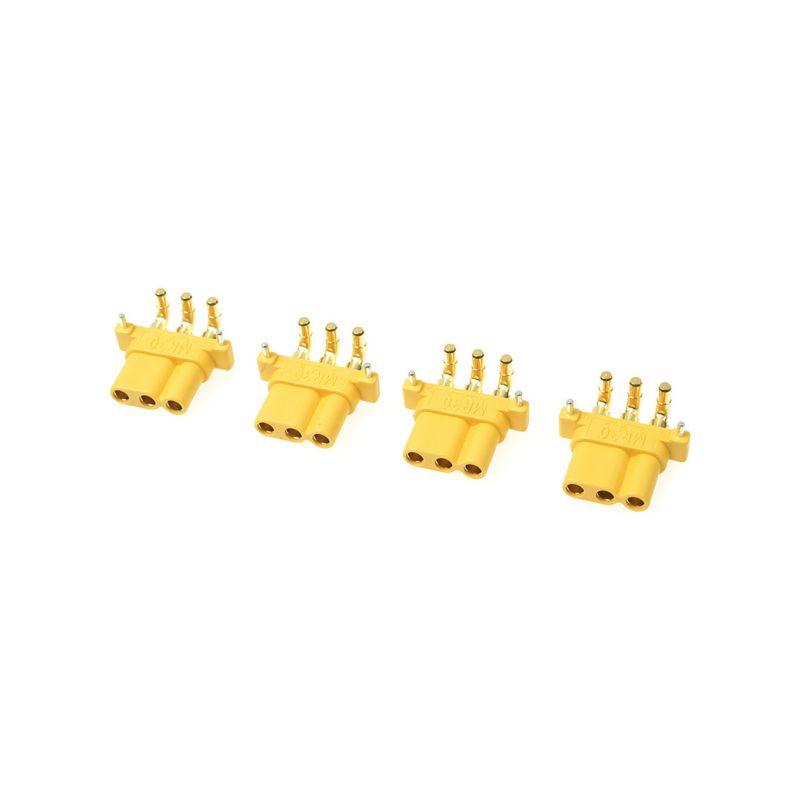 Konektor zlacený MR-30PW s krytem samec (4) - 1