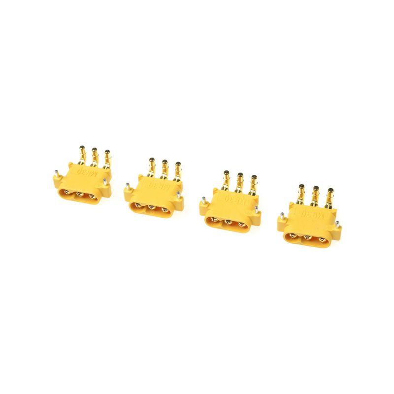 Konektor zlacený MR-30PW s krytem samice (4) - 1