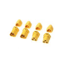 Konektor zlacený MT-30 s krytem (2 páry) - 1