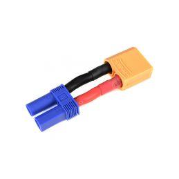 Konverzní kabel EC5 samec - XT-90 samice 10AWG - 1