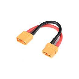 Prodlužovací kabel XT-90 10AWG 12cm - 1