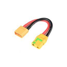 Prodlužovací kabel XT-90 Anti-Spark 10AWG 12cm - 1