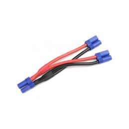 Kabel Y paralelní EC5 zlacený 14AWG 12cm - 1
