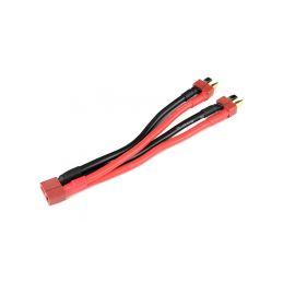 Paralelní Y-kabel Deans 12AWG 12cm - 1