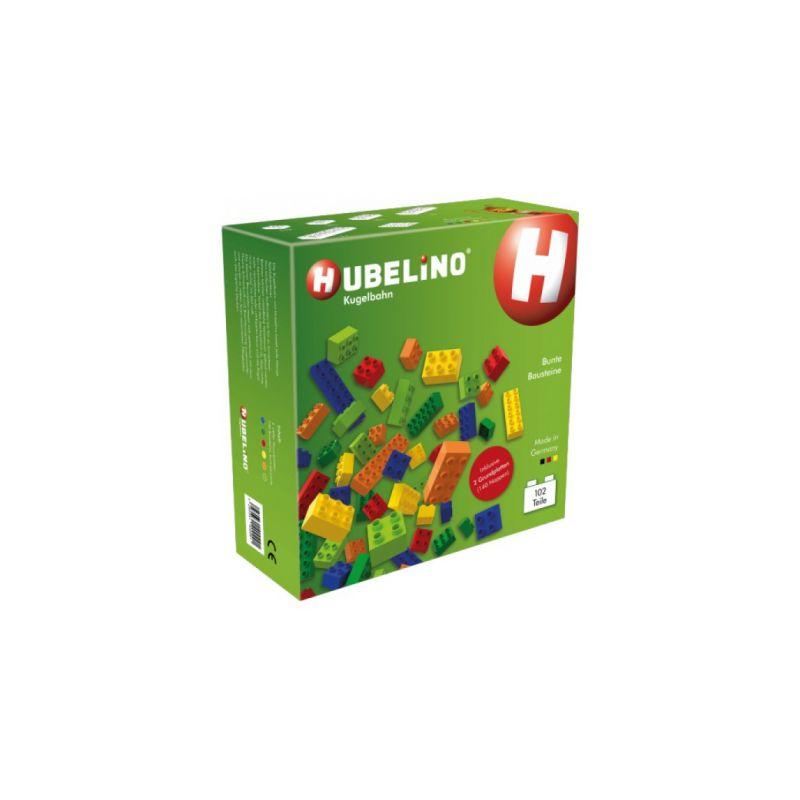HUBELINO Kuličková dráha - kostky barevné 102 - 1