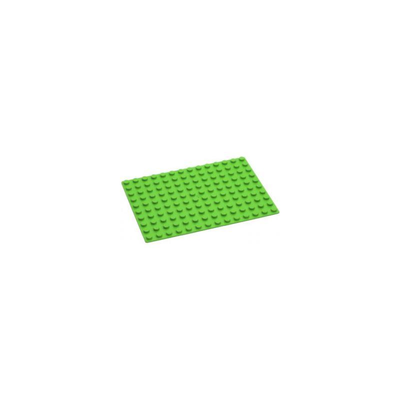 HUBELINO Podložka na stavění 14 x 10 bodů zelená - 1