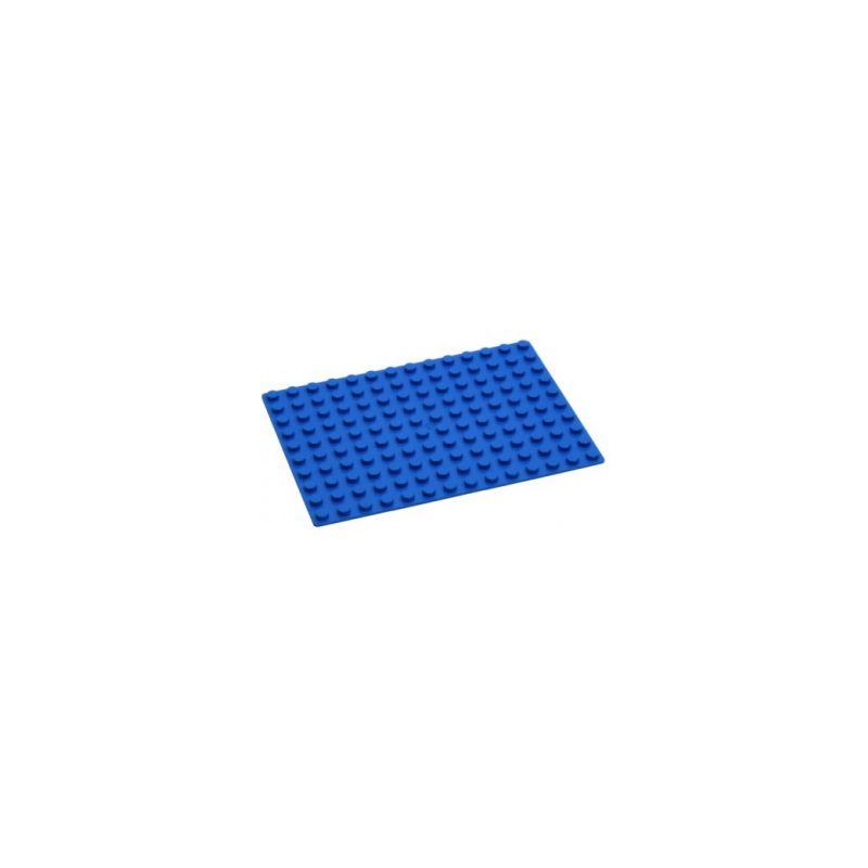 HUBELINO Podložka na stavění 14 x 10 bodů modrá - 1