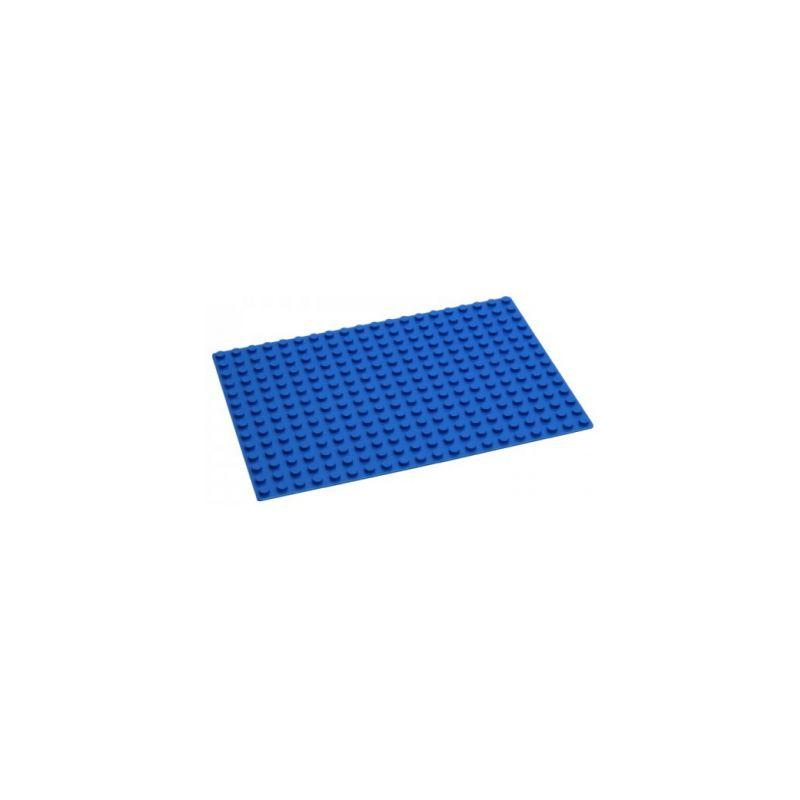HUBELINO Podložka na stavění 20 x 14 bodů modrá - 1