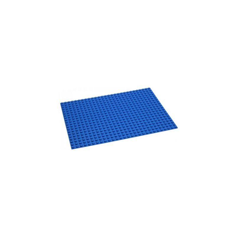 HUBELINO Podložka na stavění 28 x 20 bodů modrá - 1