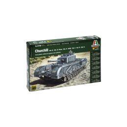Italeri Wargames - Churchill Mk.III / IV / AVRE / NA75 (1:56) - 1