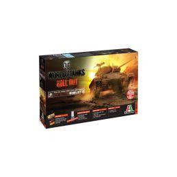 Italeri World of Tanks - M24 CHAFFEE (1:35) - 1