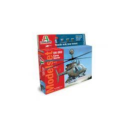 Italeri Model Set OH 58D Kiowa Warrior (1:72) - 1