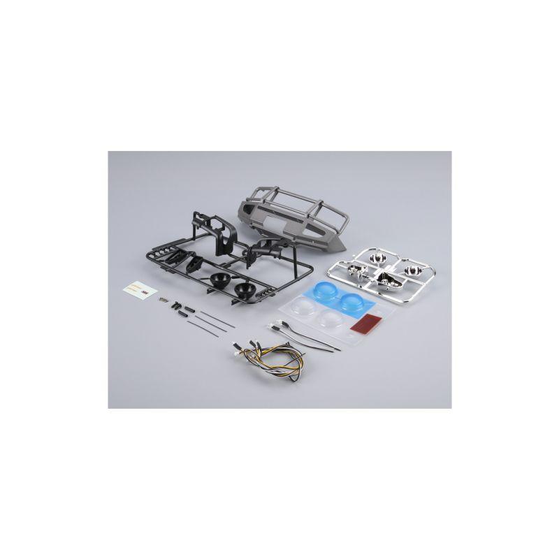 Killerbody nárazník stříbrný s LED osvětlením (Traxxas TRX-4) - 1