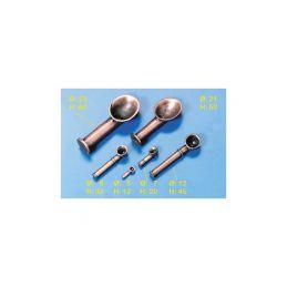 Krick Přívod vzduchu leštěný kov 20mm (4) - 1