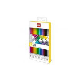 LEGO gelová pera 12ks - 1