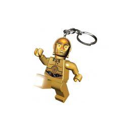LEGO svítící klíčenka - Star Wars C3PO - 1