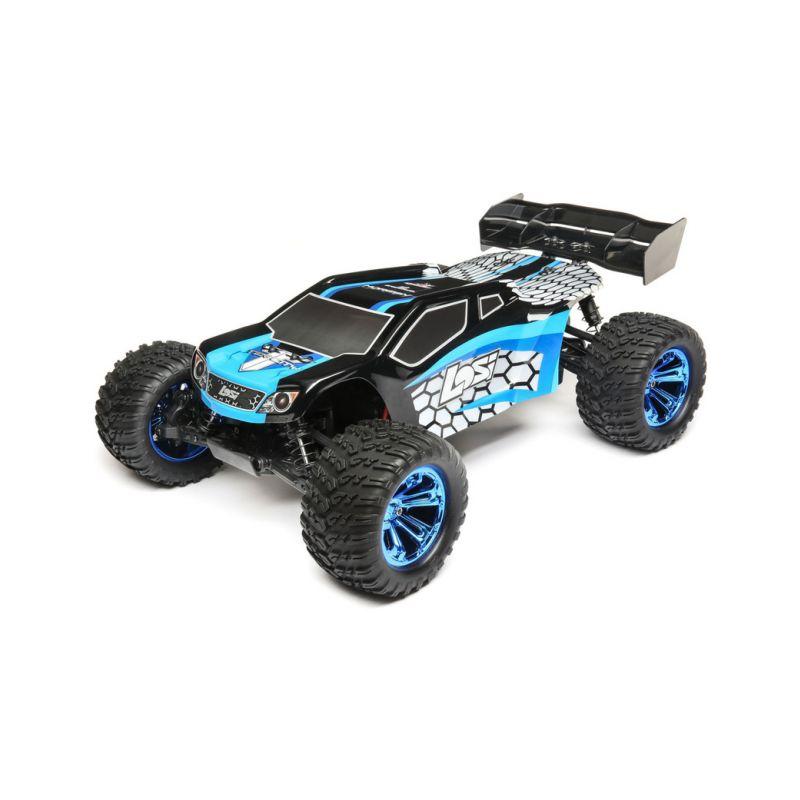 Losi Tenacity-T Truggy 1:10 4WD RTR AVC modrá - 1