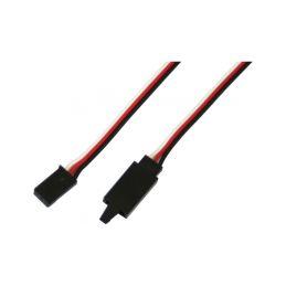 Kabel serva prodlužovací Futaba s klipem 10cm - 1