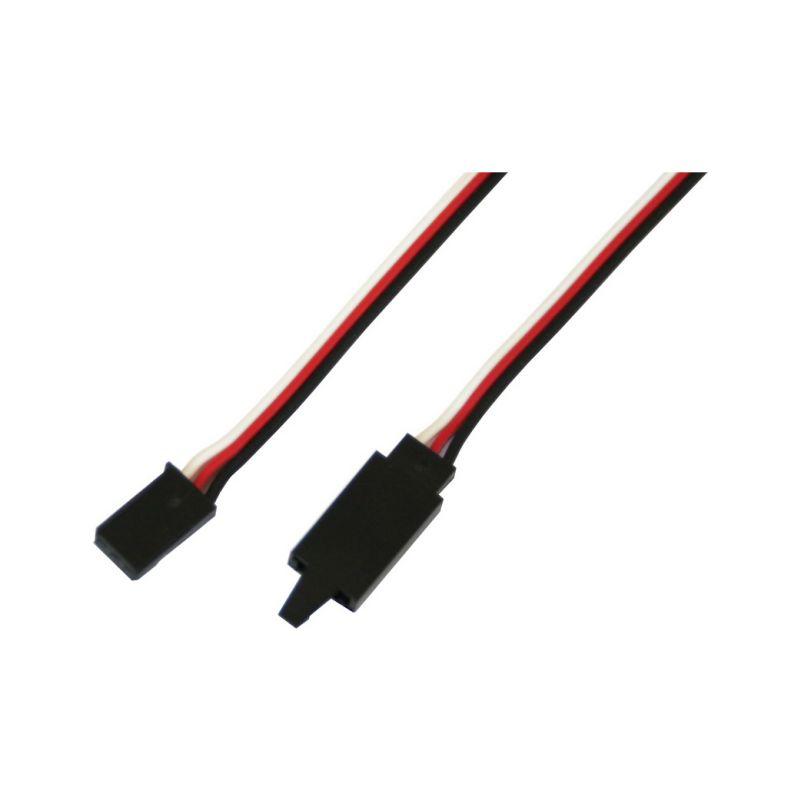 Kabel serva prodlužovací Futaba s klipem 75cm - 1
