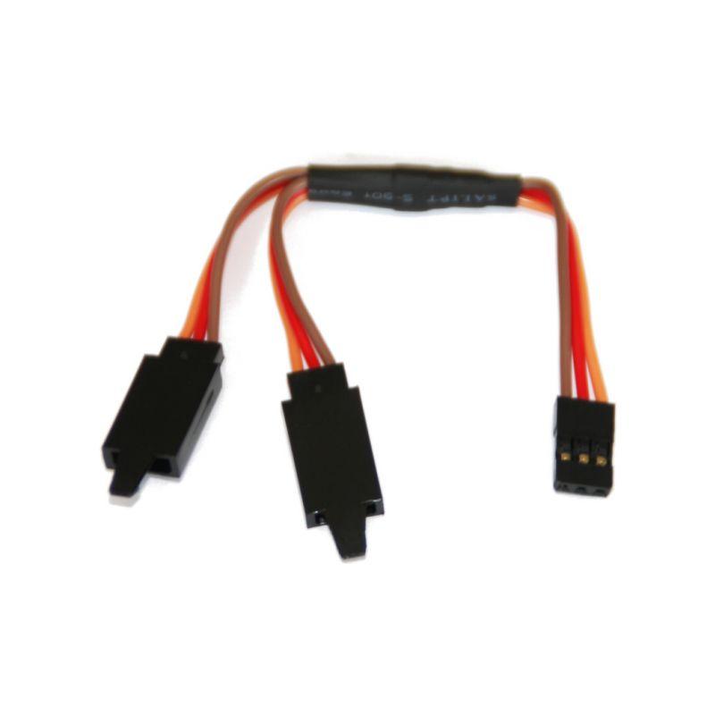 Kabel serva Y SPM/JR s klipem HD 10cm - 1
