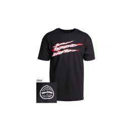 Traxxas tričko SLASH černé M - 1