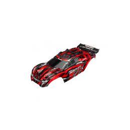Traxxas karosérie červená: Rustler 4x4 - 1