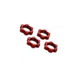 Traxxas matice kol 17mm hliníkové červené (4) - 1