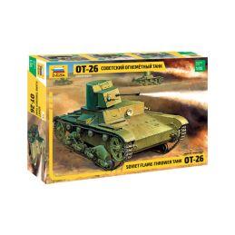 Zvezda T-26 Flamethrower (re-edice) (1:35) - 1