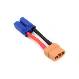 Konverzní kabel XT90 samec - EC5 přístroj - 1