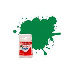 Humbrol akrylová barva #2 smaragdová lesklá 18ml - 1