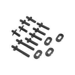 Arrma sloupky držáku karosérie - 1