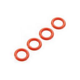 Arrma O-kroužek P-5 4.5x1.5mm červený (4) - 1