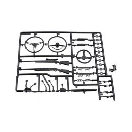 Axial plastové díly interiéru - 1