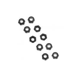 Axial matice samojistná M3 černá (10) - 1